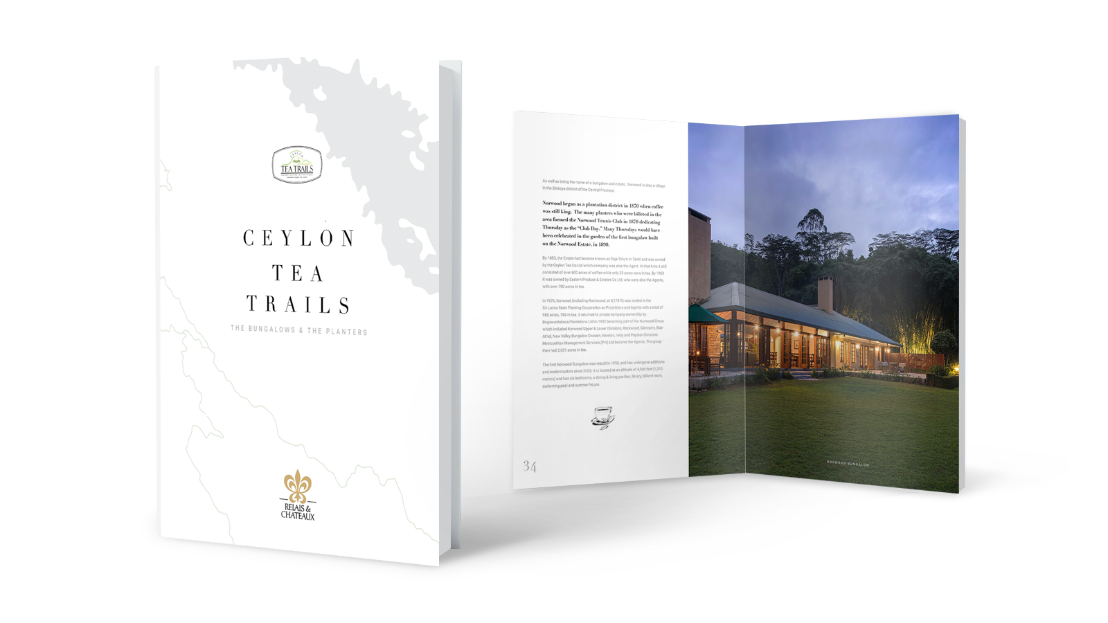Ceylon Tea Trails Bungalows & Planters Book