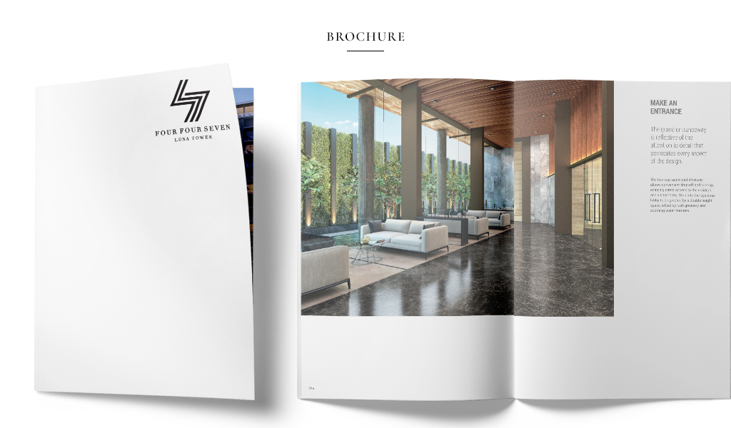 Luna Towers interior designs