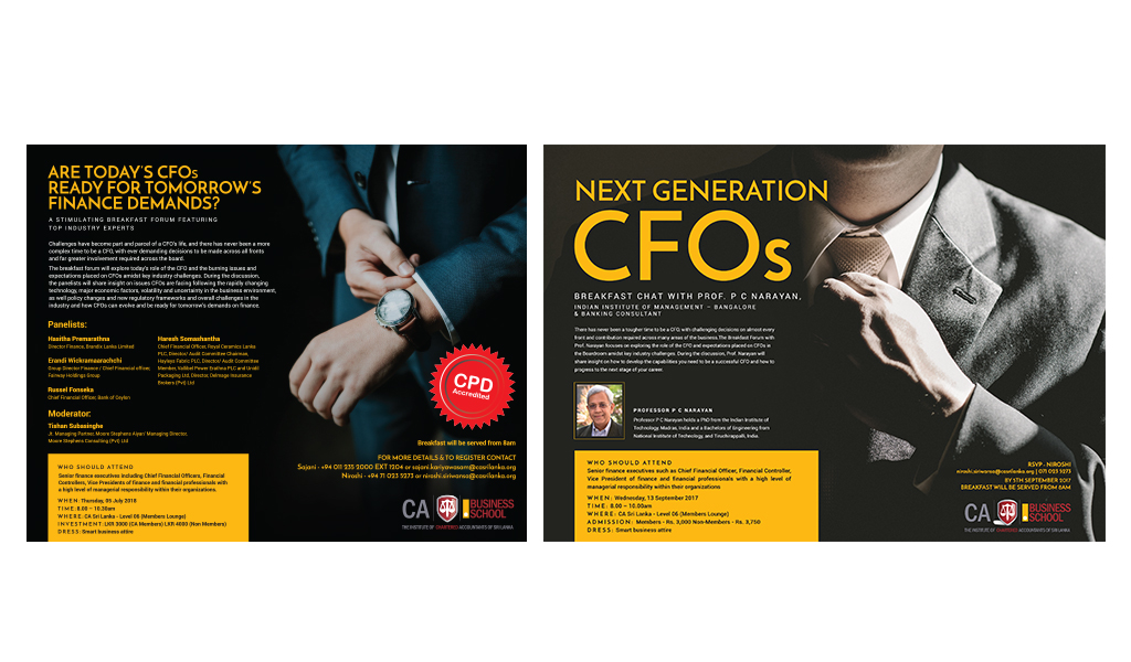 CA brochure designs