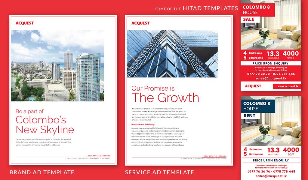 Acquest brochure designs