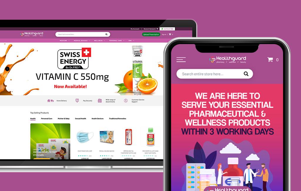 Healthguard Web Design
